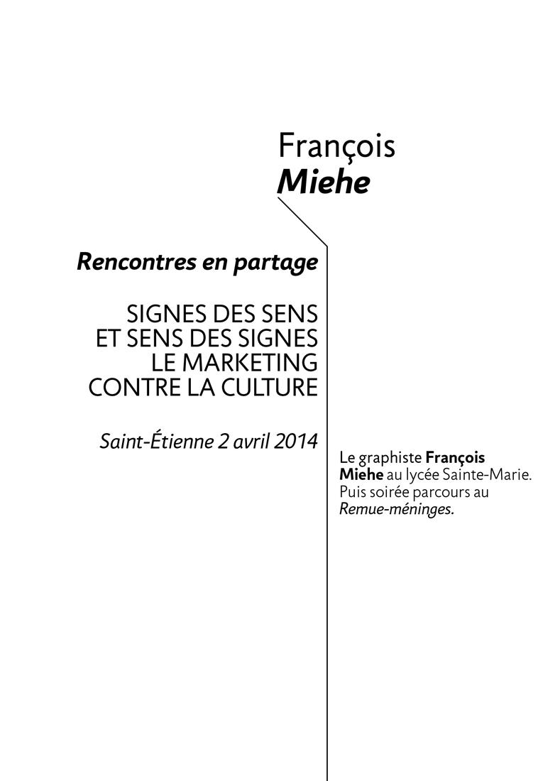 Francois Miehe get bold