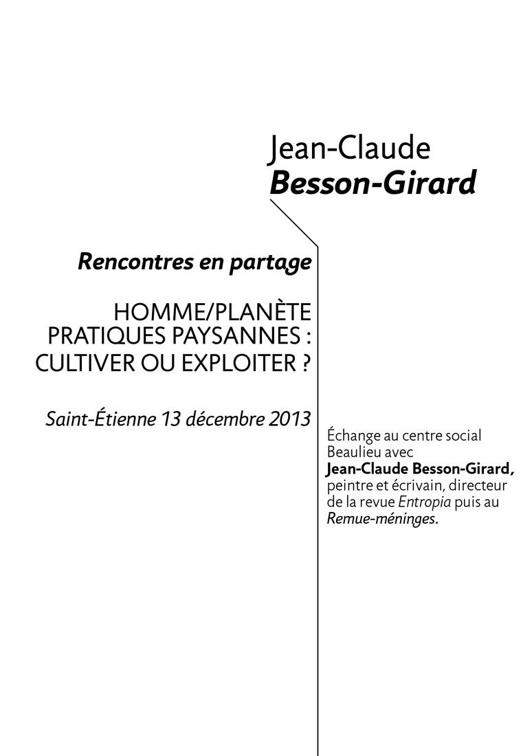 Jean Claude Besson Girard get bold