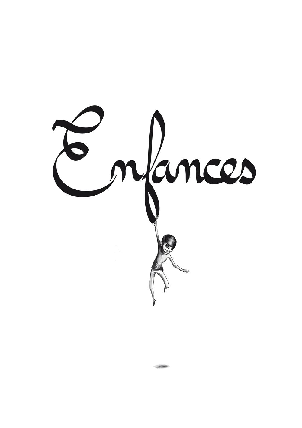 Enfance illustration get bold design Gaël Barnabé ©
