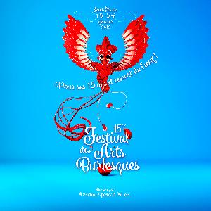 festival des arts burlesques 3d design get bold oiseau phenix