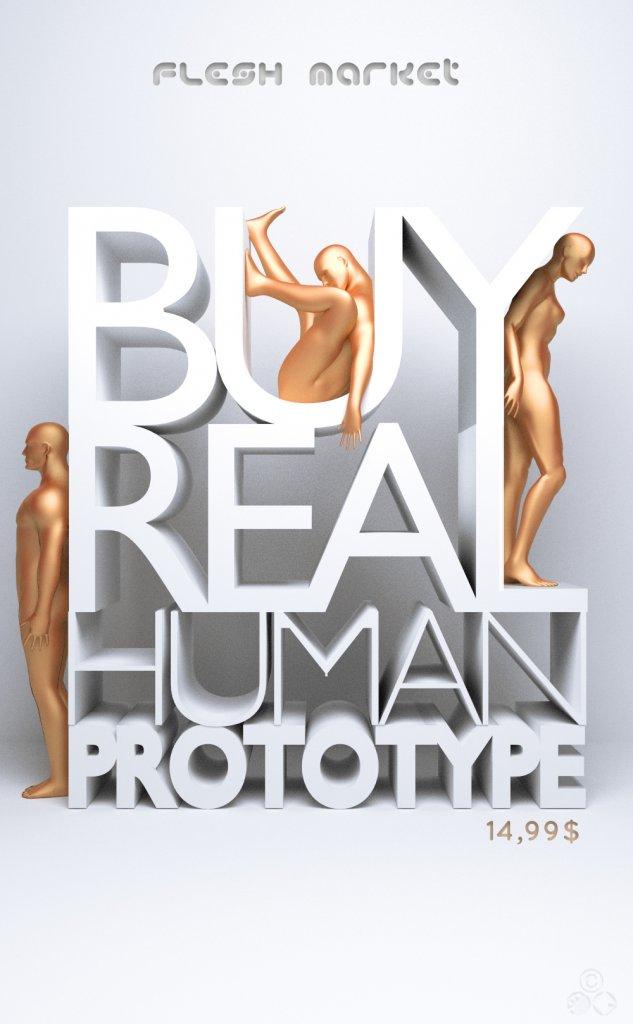 Buy real human