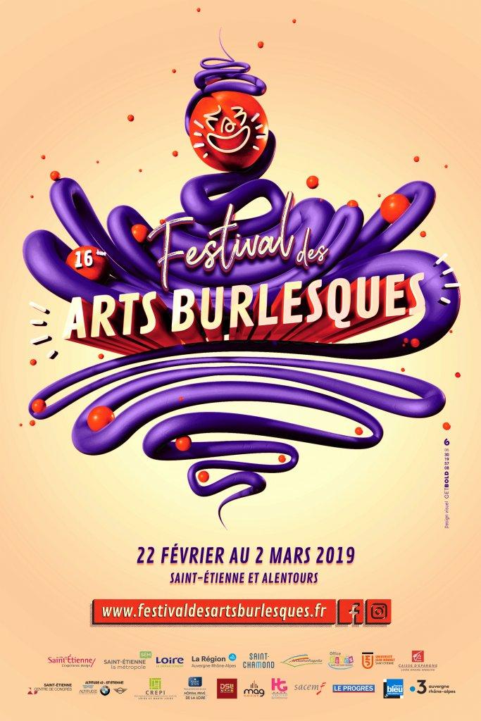 Illustration Fesitvald es Arts Burlesques Gaël Barnabé Get Bold Design