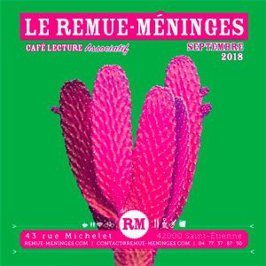 Cover remue méninges septembre get bold design