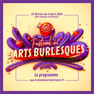 Cover festival arts burlesques get bold design