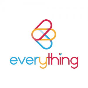 everything logotype get bold design