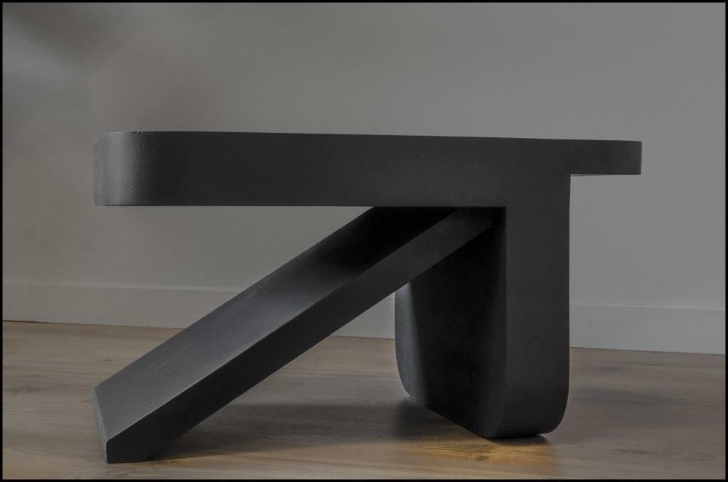 Table basse et tabouret K design Gaël Barnabé© Get Bold